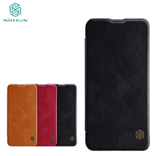 For Huawei Honor 10i 6.21'' Phone Case Nillkin Qin Flip Leather Cases Cover For Huawei Honor 10i Book Style Cover for huawei honor 20i honor 10i case cover nillkin pu leather flip case for huawei honor 20i honor 10i cover flip phone case