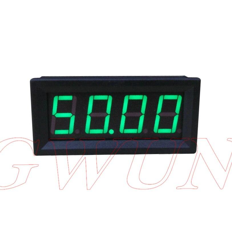 GWUNW BY456A 0-50.00A (50A) 4 bits chiffres ampèremètre Courant Compteur 0.56 pouce LED