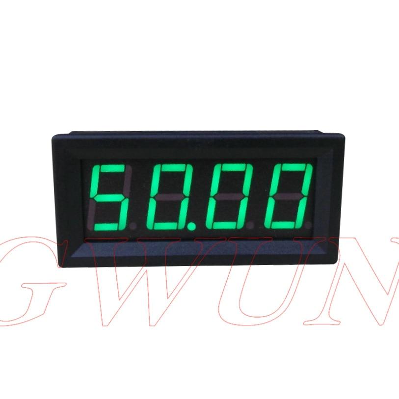 GWUNW BY456A 0-50.00A (50A) 4 peu chiffres ampèremètre Actuel Panel Meter 0.56 pouce LED