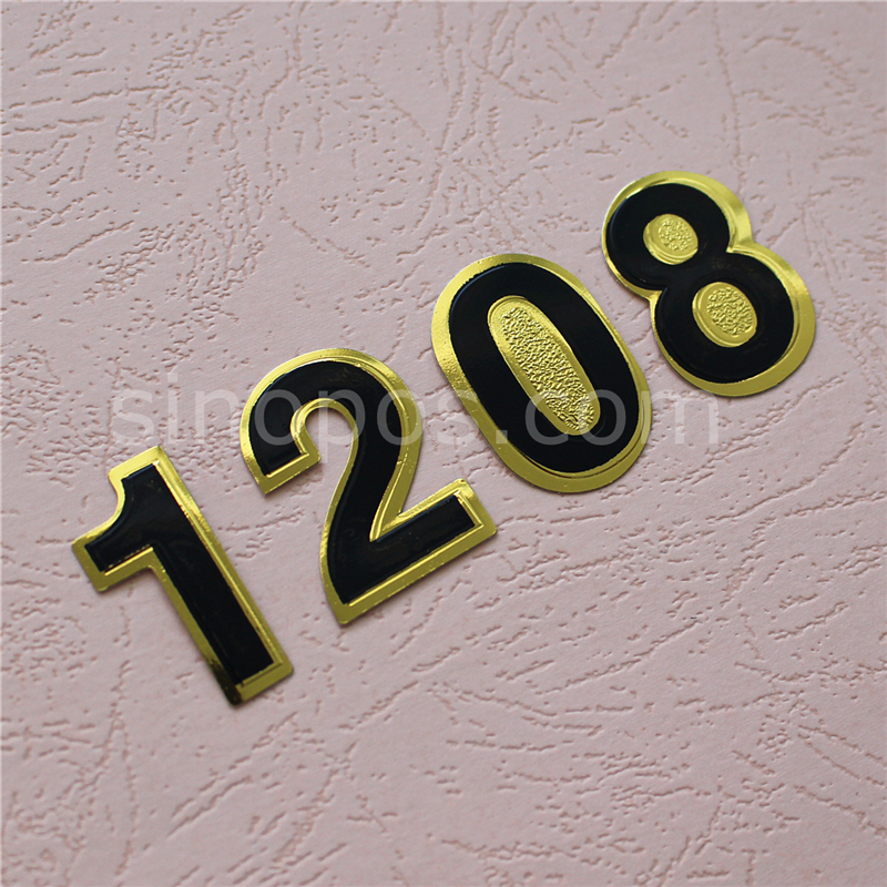 adhesive individual foil numbers sticky numeral signage mailbox rh aliexpress com cary house hotel room 212 images knockranny house hotel rooms