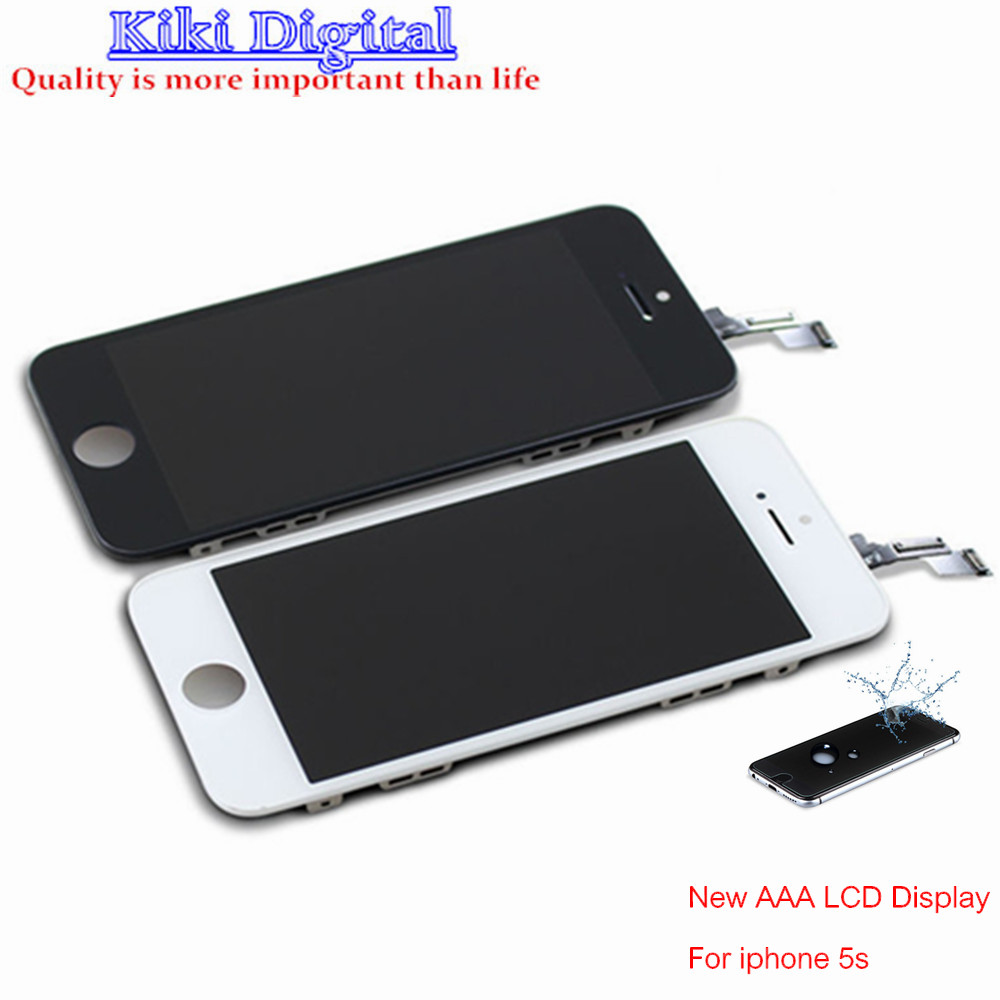 WOJOQ Guarantee A+++ LCD Display For Apple iPhone 5s Touch Screen Digitizer Assembly Replacement Free Shipping