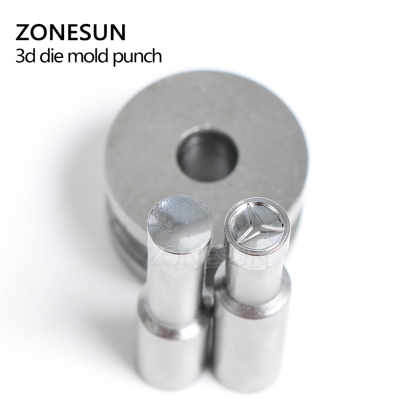 цена на ZONESUN spceial Tablet P Press Steel Custom Hole Punch Die Set Milk Tablet Die Custom Logo For punch die TDP0/1.5/3 Machine