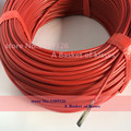 Новый инфракрасный нагревательный кабель система 3 мм Силиконовые провода углеродного волокна электрический горячей линии