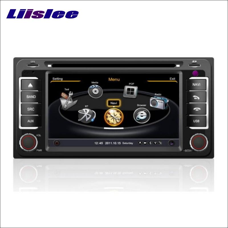 Lecteur de CD DVD de voiture Liislee GPS Navigation de carte Navi pour Toyota Ipsum 2001 ~ 2009 Radio Audio vidéo stéréo système multimédia S160
