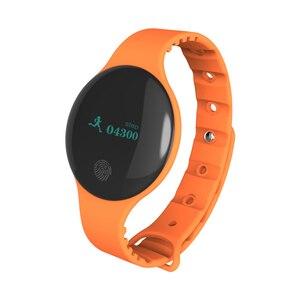 Image 2 - Fitness Tracker inteligentna bransoletka nadgarstek bluetooth passometer wiadomość przypomnienie o połączeniu kompatybilny dla android ios PkMi pasek