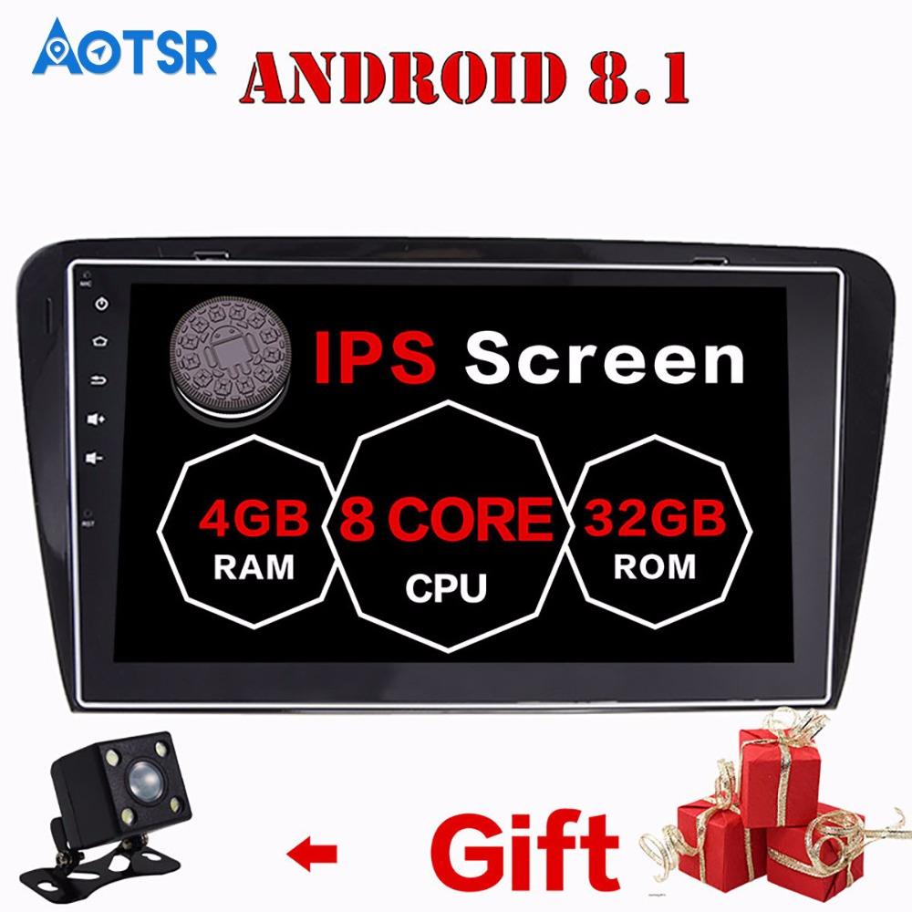 Android 8 Car CD DVD Player 2 din radio For FORD FOCUS C-MAX FIESTA FUSION GALAXY TRANSIT