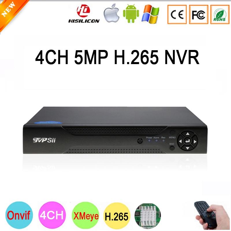 Dahua Панель Hi3536D Xmeye 4CH * 5 м/8CH * 4 м HD цифровой 5MP 4CH 4 канала H.265 наблюдения IP ONvif Камера NVR Бесплатная доставка