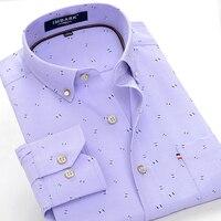 M to 6XL 7XL 8XL 9XL 10XL personality printing men's fashion casual long sleeved shirt 2019 autumn new high quality men's shirt