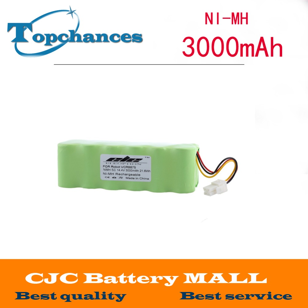 High quality New 14.4v 3000mAh Ni-MH Rechargeable Battery For Samsung NAVIBOT VCR8875 14.4 Volt Free Shipping original new for nihon kohden pvm 2700 pvm 2703 pvm 2701 sb 201p x076 monitor rechargeable battery 12v 3700mah free shipping