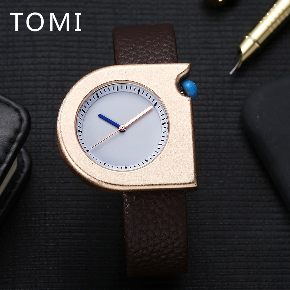 2017 TOMI New Brand Men Luxury Watch Fashion Sport Square Gold Quartz WristWatches Mens Watches Top Brand Luxury Relogio Watch tomi men s watches 2017 new hot brand watch fashion leisure women quartz watch men luxury leather strap wristwatch relogio gift