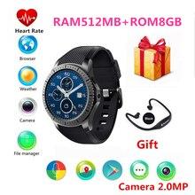 Продажа Оригинальный Smart Watch для Samsung Gear S3 SmartWatch MTK6580 4 ядра GPS  WI-FI  BT сердечного ритма Android 5.1 2.0 МП для IOS и Android