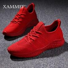 Men Sneakers Men Casual Shoes Brand Men Shoes Male Mesh Flats Plus Big Size Loafers Breathable Slip On Spring Autumn Xammep