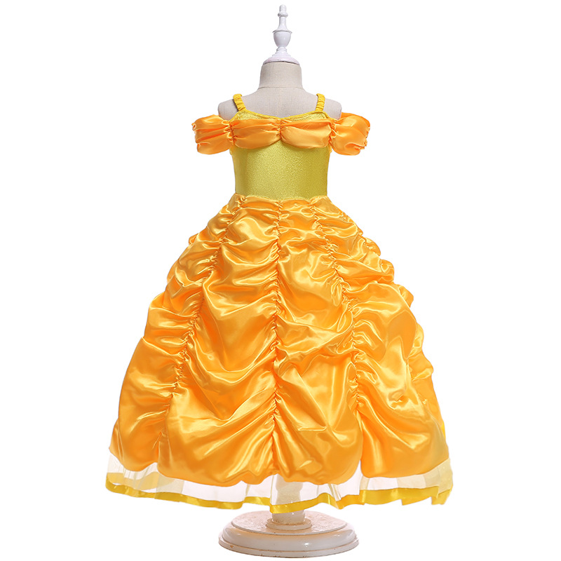 New   Flower     Girl     Dresses   Beading Princess Ball Grown O-neck Sleeveless   Girls     Dress