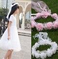 2015 Новый цветок головной убор, чтобы соответствовать платье девушки цветка принцесса Гирлянда