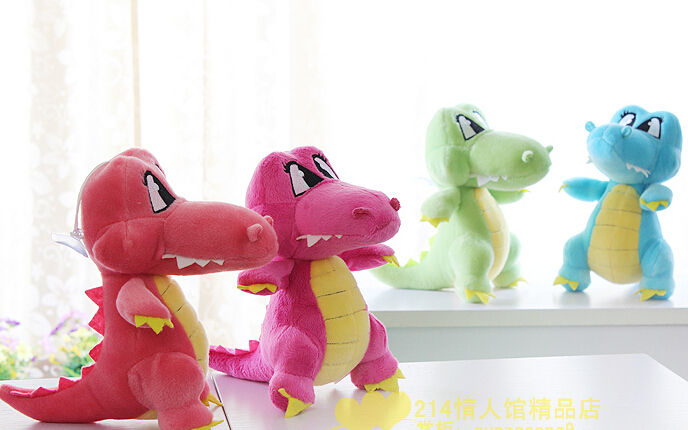 Plush pendant wholesale 4pcs 20cm cartoon crocodile cute wedding little cupula doll children prize girl gift