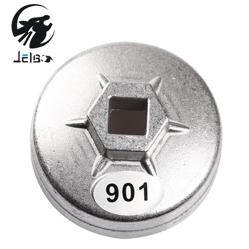Jelbo 1/2 Square Drive 65mm 14 Flûtes Fin Cap Filtre À Huile Clé Automatique Outil pour Toyota Cartouche Cap Clé prise Remover