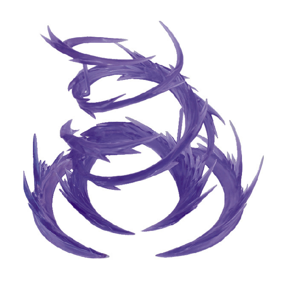 Whirlwind Flame Special Effects Decoration For EFFECT SHF Superalloy Gundam Model Action & Toy Figures- Purple