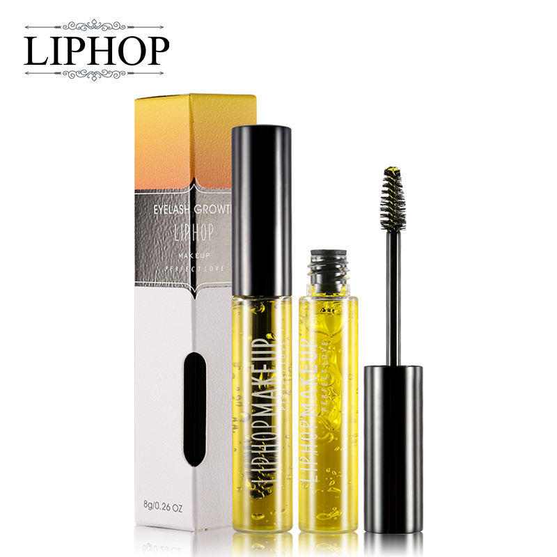 LIPHOP Brand Powerful Eyelash Growth Treatments Liquid Eye lash Serum Makeup Enhancer Longer Thicker Grow In