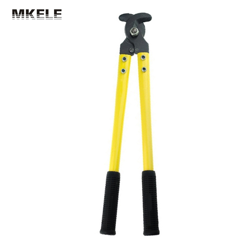 High Quality Effort Fierce Steel Cable Cutter LK-250  Bolt Electrician Light Clamp Pliers For Wire Hand Tools China cable type flexible wire long reach hose clip pliers hose clamp pliers for auto vehicle car repairs tools