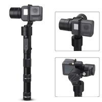 Zhiyun Эволюция 3 оси ручной карданный стабилизатор для GoPro Hero 6 5 4 3 XiaoMi Yi SJ4000 SJ5000 Спорт камеры, CNC Алюминий