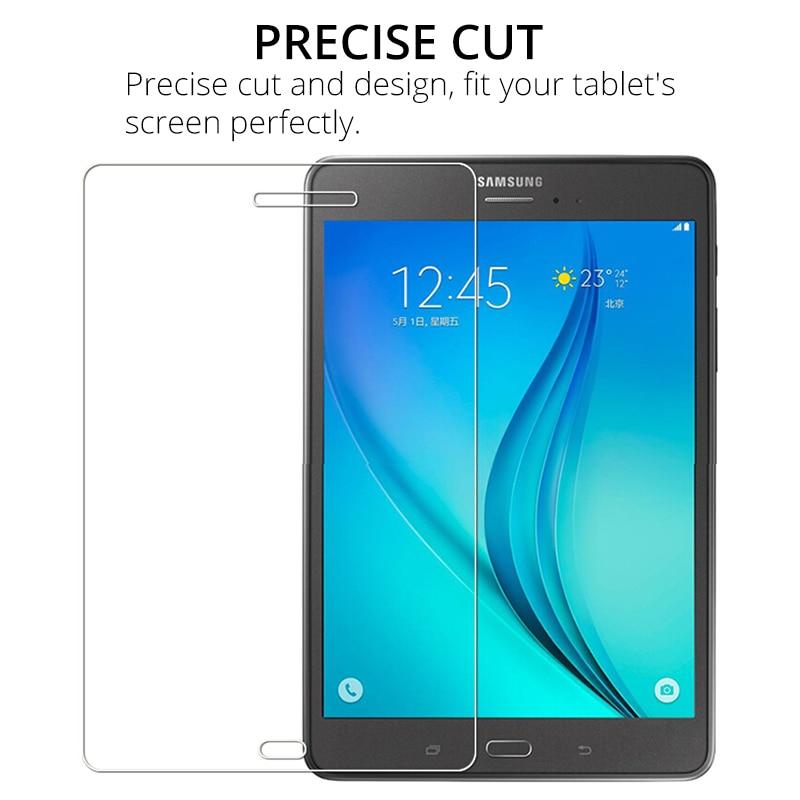 1f4fb524a61 ... fácil Fácil de instalar Vidro Temperado99% Transparência High Clarity  HD Vidro Temperadocompatibilidade para Samsung Galaxy Tab 8.0 T350 T355O  pacote ...
