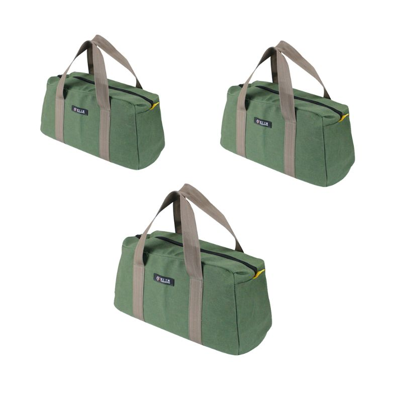 Hardware Machinist Toolkit Handbag Waterproof Oxford Cloth Organize Zipper Pockets Durable Storage Pouch Electrician Worker Use