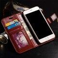 Para a apple iphone 7 plus caso premium carteira de couro da aleta capa com suporte da foto Para fundas i6 iphone6 7 6 S de Telefone de luxo sacos