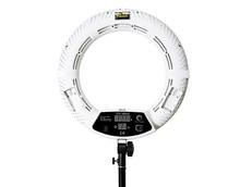 Yidoblo RU nakliye FD-480II beyaz Bi-renk Fotoğraf Stüdyosu Halka Işık LED Video Lamba Fotoğraf Aydınlatma 96 W 5500 K 480LED Işıkları