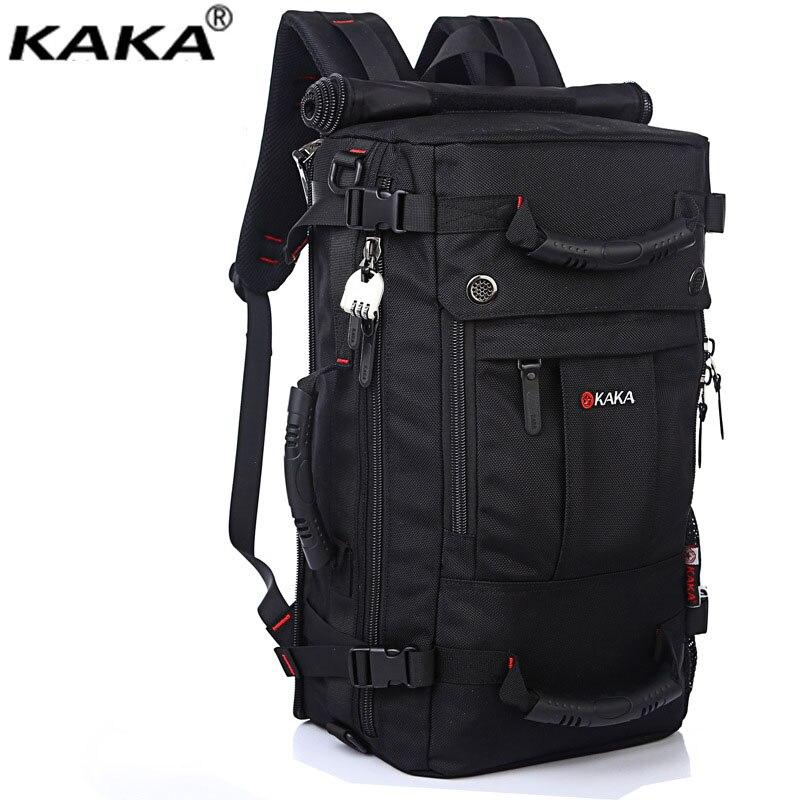 Marque mode étanche grande capacité sac à dos homme messenger voyage sac à bandoulière ordinateur sacs à dos hommes sacs multifonctions