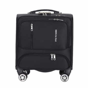 Fashion Commercial Travel Suitcase Universal wheel Aluminium alloy rod Trolley Oxford cloth boarding box password box - DISCOUNT ITEM  49% OFF All Category