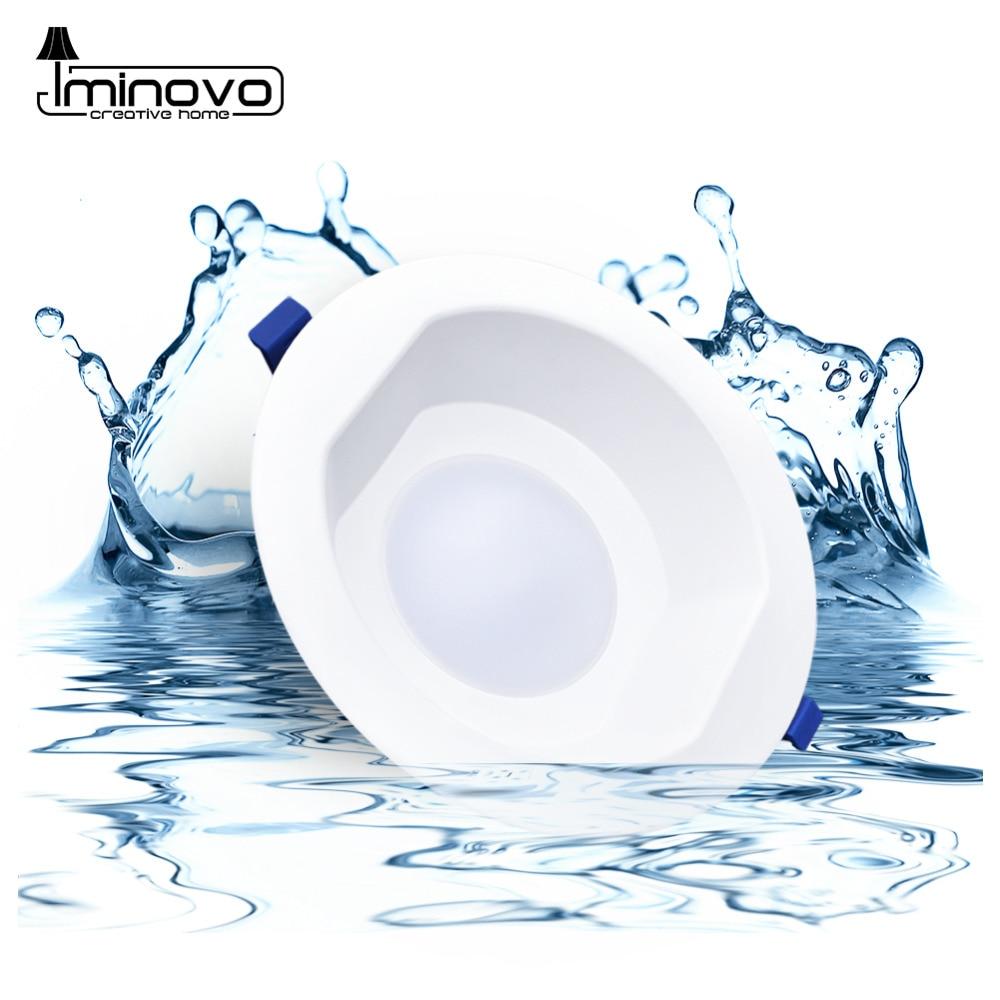 LED Downlight 6W 13W 20W Indoor Spot Light Round IP65 Waterproof Recessed Lamp Bathroom Kitchen Aquarium  Outdoor 220V 240V