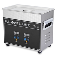150W 3.2L Digital Bath Ultrasonic Cleaner Ultrasound Machine With Heater Timer Deep Cleaning Jewelry False Tooth Shaver CJ 20S