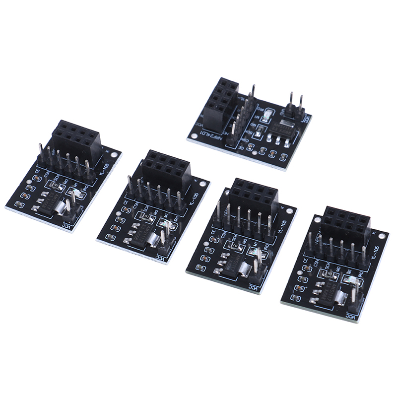 5Pcs/lot Socket Adapter Plate Board For 8pin NRF24L01 Wireless Transceive Module Wholesale