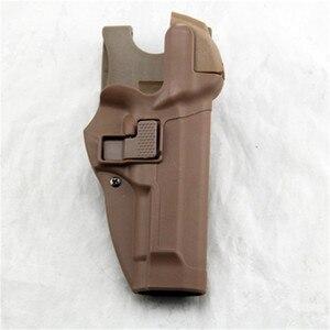Image 3 - Tactical Serpa Livello 3 di Ritenzione di Blocco Automatico Duty Pistola della Pistola della custodia per Armi della Mano Destra Vita Passante per Cintura per Beretta 92 96 m9 M92