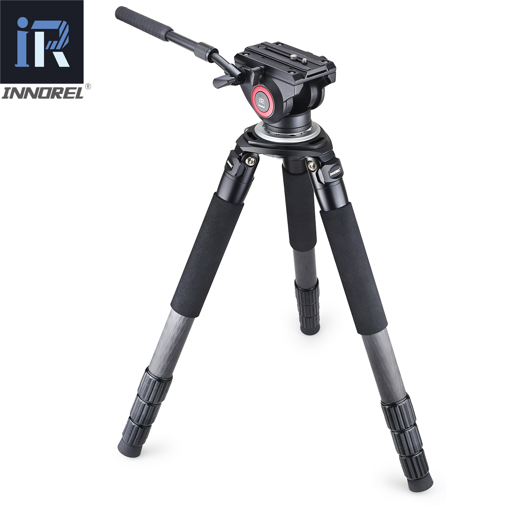 Image 5 - RT90C flagship class Carbon Fiber Tripod professional Birdwatching heavy duty stand 40mm tube Hollow flange design 40kg load-in Tripods from Consumer Electronics