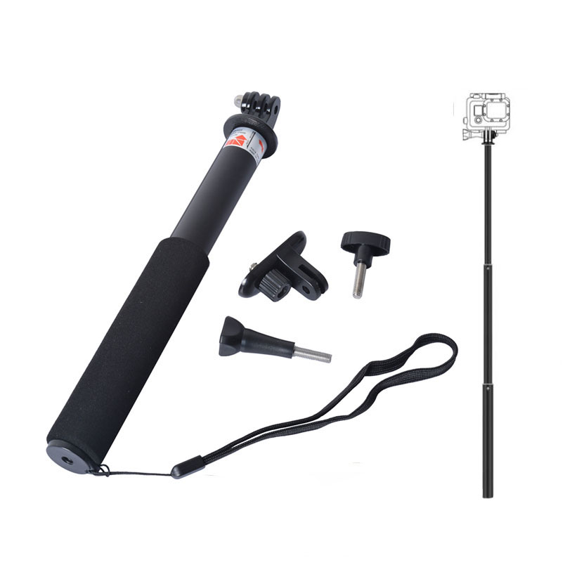 Self Selfie Stick Handheld Extendable Pole Monopod Tripod