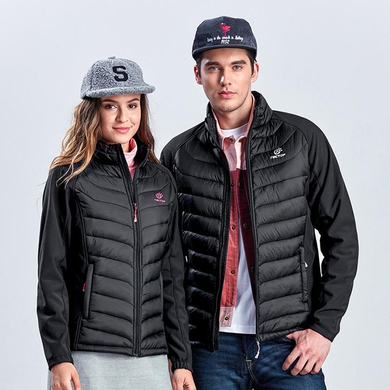 Men's Women's Winter Softshell Cotton Thermal Jacket Outdoor Sports Tectop Coats Hiking Skiing Camping Male Female Jackets VA082 цены онлайн