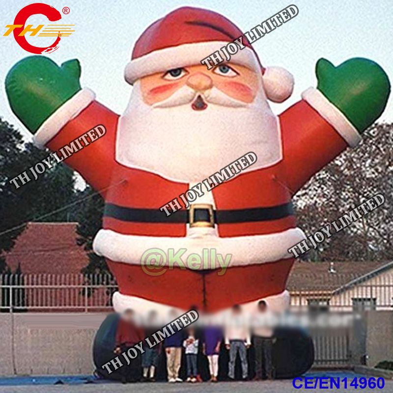 Us 620 0 Free Shipping To Door Giant Inflatable Santa Claus For Outdoor Advertising Custom Make Santa Claus Xmas Inflatable Decorations In