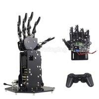 Bionic робот ладонь пальцы робот комплект DIY/высокий крутящий момент манипулятор Беспроводной ручка/соматосенсорной Управление с открытым ис