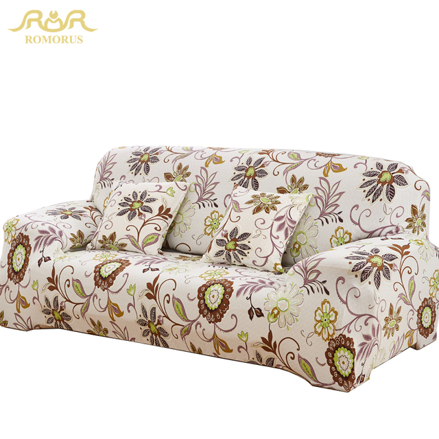 ROMORUS Wholesale One/Two/Three/Four Seater Sofa Covers Tight Wrap  Stretchable New