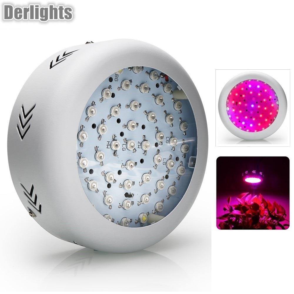 НЛО светодио дный 150 Вт светодиодный растительный свет 50X3 Вт светодио дный s полный спектр растительный ящик 410-730nm для комнатных тепличных р...