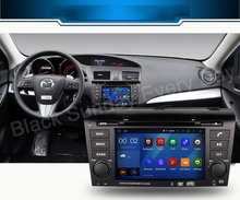 ROM 16G 1024*600 Quad Core Android 5.1.1 Fit MAZDA 3 MAZDA3 2004 -2008 2009 Car DVD head unit stereo Navigation GPS TV 3G Radio