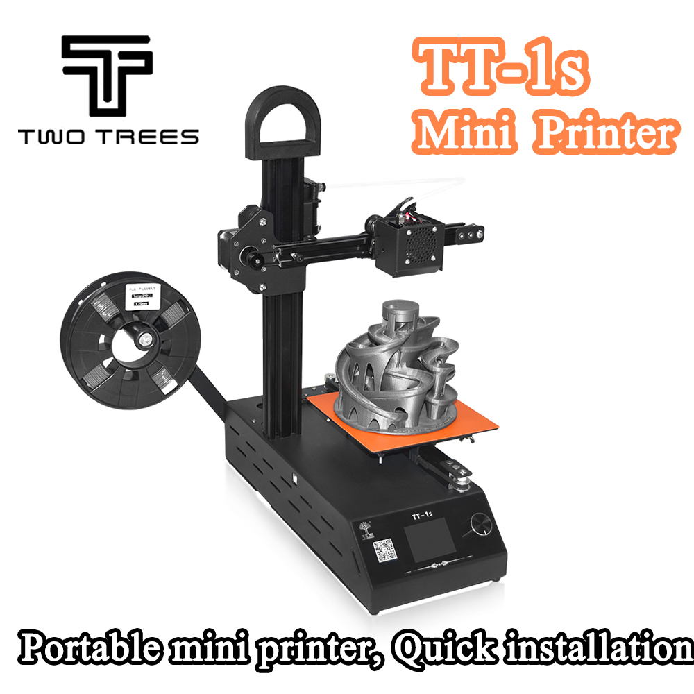 2018 New DIY TT-1s Mini 3D printer 220V/110V Universal Made from CN Fully Assembled supplied with 0.3kg Filament in random color 2018 new diy tt 1s mini 3d printer 220v 110v universal made from cn fully assembled supplied with 0 3kg filament in random color