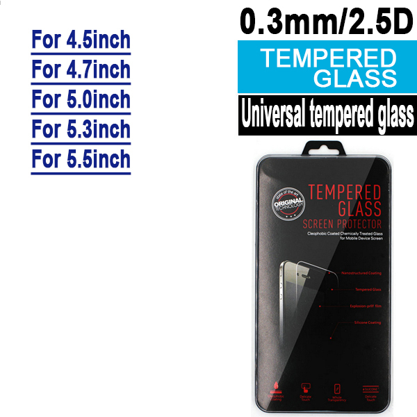 Sinean 200PCS mixed order For universal tempered glass screen protector for 4 0 4 3 4