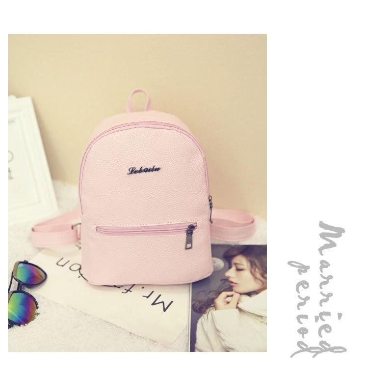 HTB1NwjUkbZnBKNjSZFKq6AGOVXaP 2019 New Backpack Summer Small Women Backpack Candy Color Student Travel Shoulder Bags Teenager Girls Female Mochila Bagpack