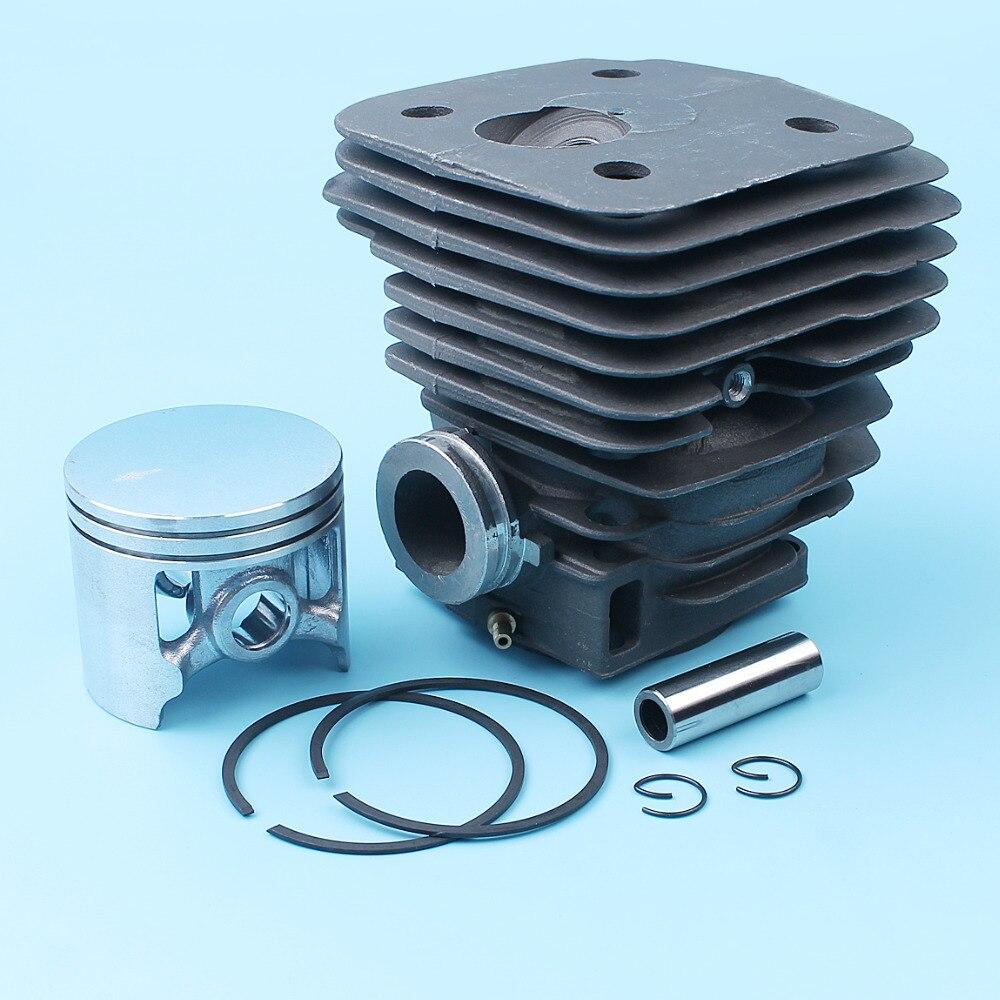 Nikasil Plated Cylinder Piston Pin Ring Kit For Husqvarna 395 395XP 395 XP EPA (56mm) Chainsaw #503993903 (13mm) Pin