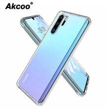 Akcoo Anti shock TPU Thick Case for Huawei P30 Pro shell with sound switch design mate 20 pro P20 lite Nova 3e cover