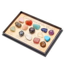 Natural Mineral Specimens Gemstone with Box