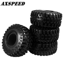 1/2/4pcs 130MM OD Tire Tyre w/ Foam for RC 1/10 2.2 Wheel Axial Wraith
