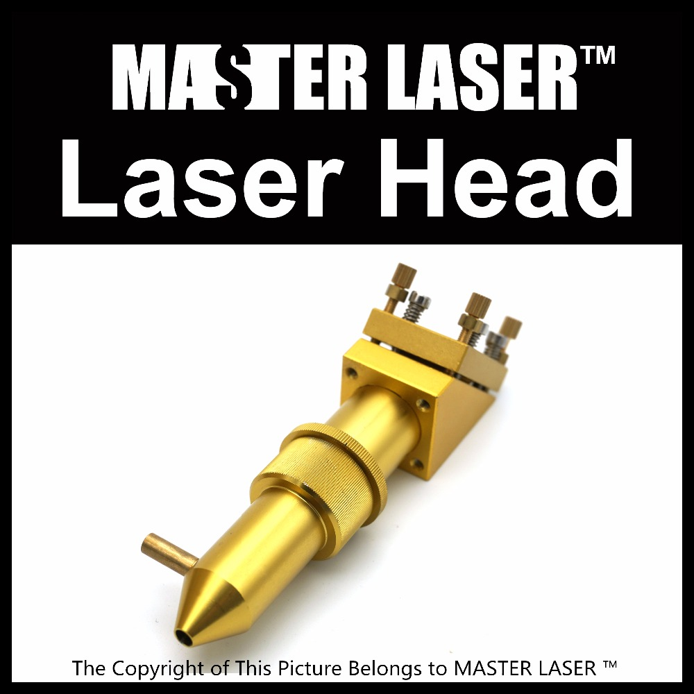 MASTER LASER CO2 Laser Head for Focus Lens Dia.12.7 FL.50.8 mm Mirror 20mm Mount for Laser Engraving Cutting Machine high quality co2 laser cutting head for focus lens dia 20 fl 50 8 63 5 101 6mm